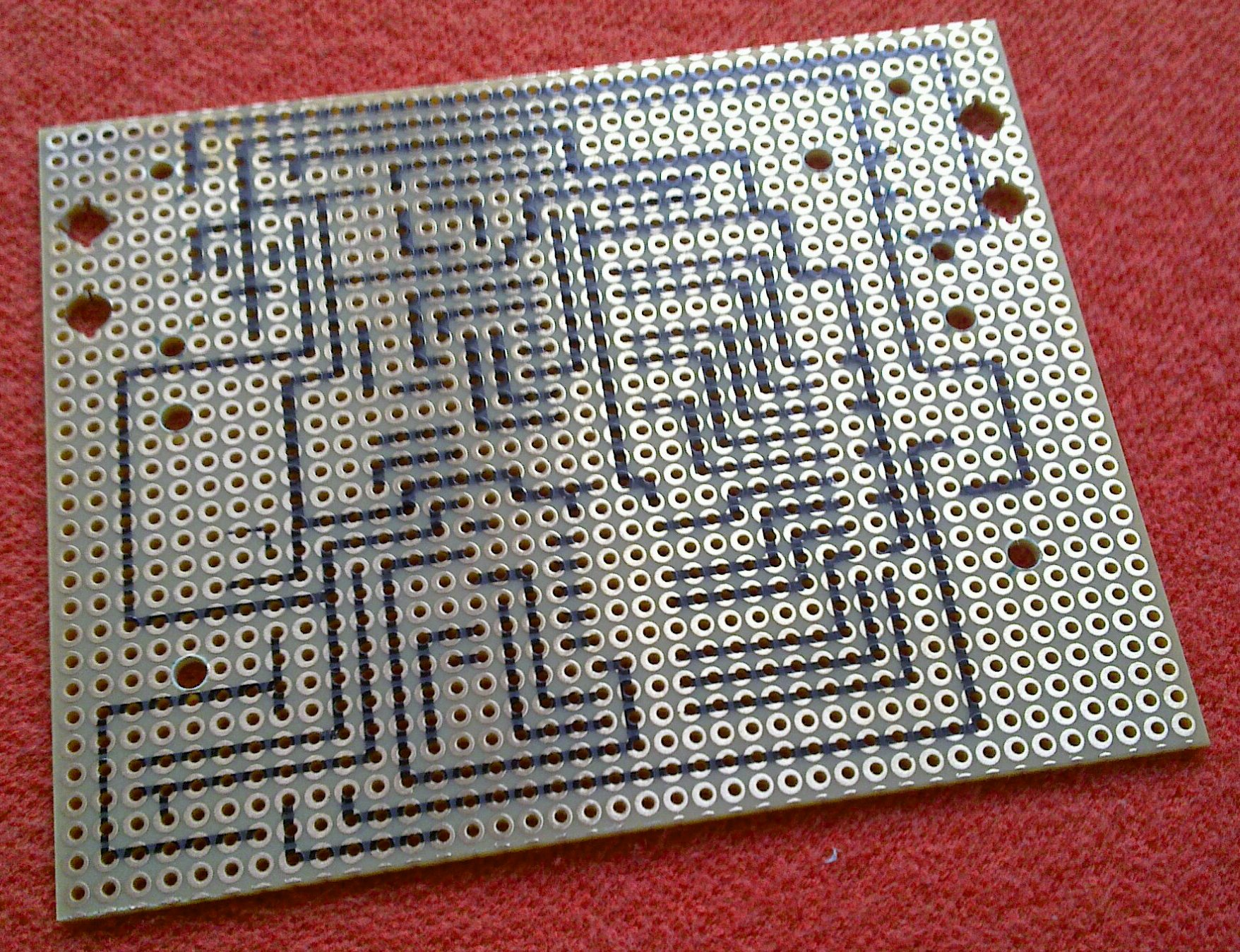 Craft Hacked From Pieces Wiring Cnc Diagram Controller 4060z Plotted Pcbs